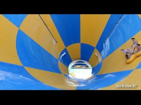 [HD POV] Tornado Water Ride - Pacific Spin - Wet n Wild - Six Flags