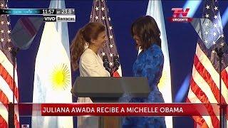 Juliana Awada recibe a Michelle Obama - 23/03/2016