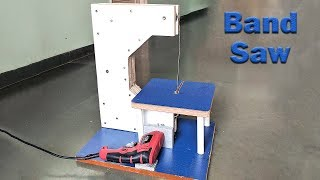 How to Make a Bandsaw at Home