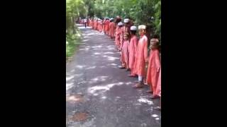 শোল্লা দাখিল মাদরাসায় জঈি বিরূূদী মানববন্রদান Yasin chandpur foridgonj sollha.....