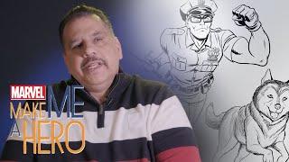 Hero and his Husky | Marvel Make Me a Hero
