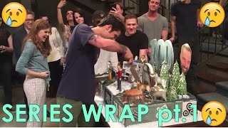 Teen Wolf Series Wrap pt.1 | Tyler Posey Cuts The Cake