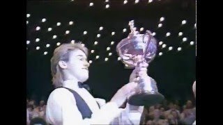 1990 World Snooker Championship Final - Stephen Hendry v Jimmy White