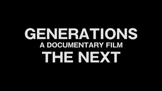 GENERATIONS from EXILE TRIBE / 「GENERATIONS A DOCUMENTARY FILM THE NEXT」ティザー映像