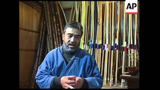 The art of making Japanese bows