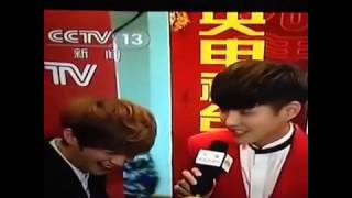 021215 [EngSub] Luhan interviewing Kris