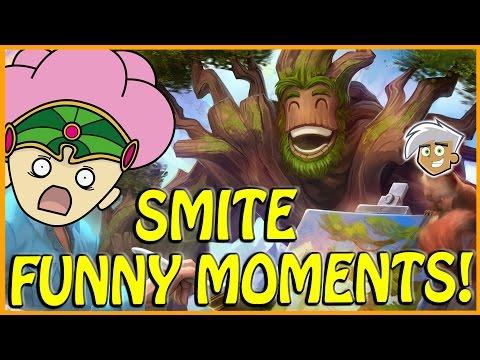I'VE GOT WOOD IRL! (Smite Funny Moments)