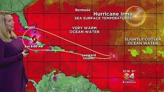 Hurricane Irma Moves Through Atlantic, Now Cat. 3