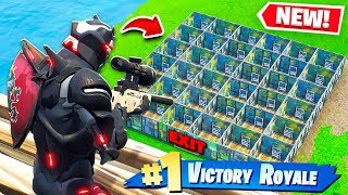 FIND THE EXIT OR DIE! Custom Gamemode in Fortnite Playground V2!