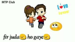 Tera ▶️Zikr    Whatsapp Status Video    Abhi abhi to mile 👩❤️👨the Phir juda👥 ho gaye