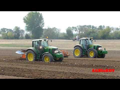 New Holland vs John Deere vs Valtra tractor field exibition