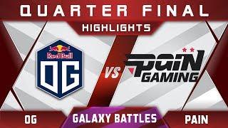OG vs paiN + w33 - Galaxy Battles 2018 Highlights Dota 2