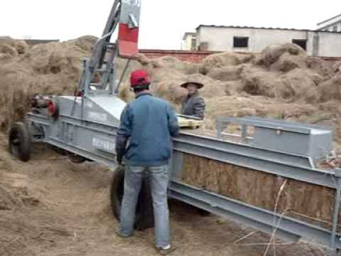 Maquina para empaquetar pasto