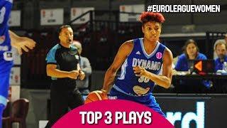 Top 3 Plays - Game Day 11 - EuroLeague Women 2017-18