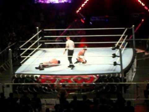 WWE RAW World Tour São Paulo Brasil Vitória de CM Punk