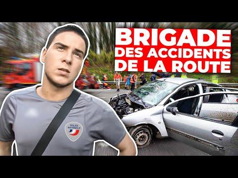 Brigade des accidents de la route Paris sous haute tension