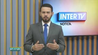 [HD] Final do Bom Dia Minas e início do InterTV Notícia (02/01/2017)