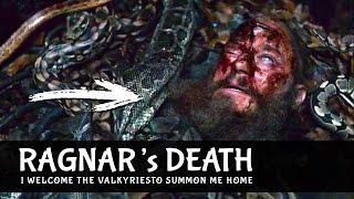 Vikings 4x15 Ragnar's Death & Speach / Pit Of Snakes Ending Scene