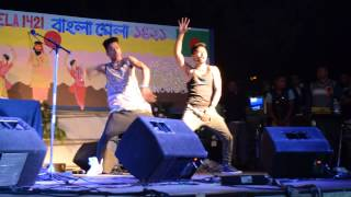 BANGLA MELA 1421 ANCONA:  DANCE BY MOTIN AND NIROB :'3