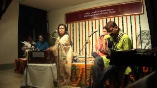 Rezwana Choudhury Bannya performing at IGCC, HCI, Dhaka
