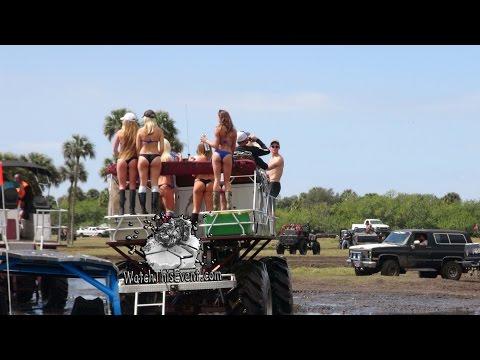 Fun in the Sun! Girls Mudding!!!!!