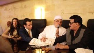 شاهد حصريا فيديو لحظة عقد قران النجمة دنيا سمير غانم