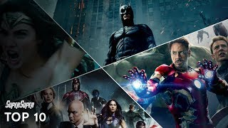 Top 10 Superhero Movies | Explained in HINDI