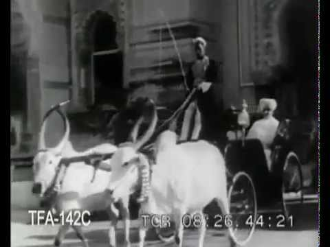 Rare Video of Maharaja SayajiRao Gaekwad of Baroda