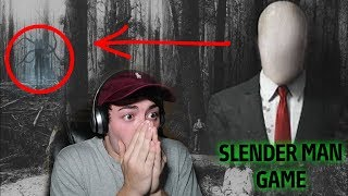 (HE CAME TO MY HOUSE) DO NOT PLAY SLENDER MAN GAME AT 3:00 AM | 3 AM SLENDER MAN GAME CHALLENGE