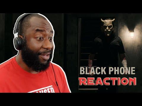 The Black Phone Movie Trailer Reaction