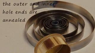 clock repairs, main spring barrel, 57 seconds, 2 MB