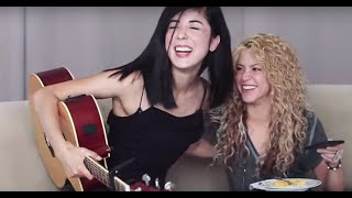 Shakira - Hips Dont Lie (Cover) by Daniela Andrade ft. Shakira