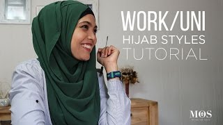 Hijab Styles for Work / Uni | MOS