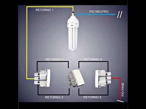 Instalação de Lâmpada com Interruptor Paralelo Eletrônica com Alison Freitas 5