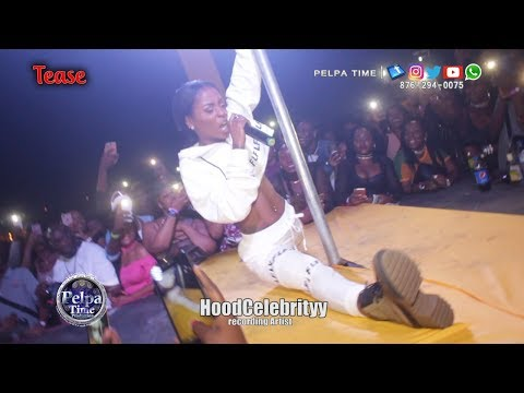 Xxx Mp4 HoodCelebrityy Performance AT Tease First Time In Jamaica 3gp Sex