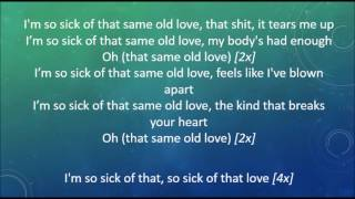 Selena Gomez - Same Old Love (Lyrics)