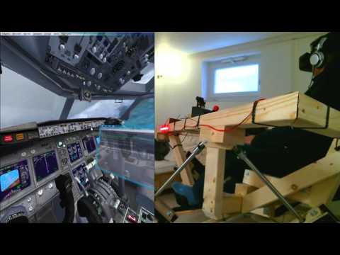Xxx Mp4 DIY 6DOF Motion Platform FlyInside FSX Oculus Rift DK2 IFR PHTO To PHNL 3gp Sex