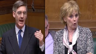 BREXIT: Jacob Rees-Mogg CLASHES with Anny Soubry & other MPs, JRM under fire for Tweet