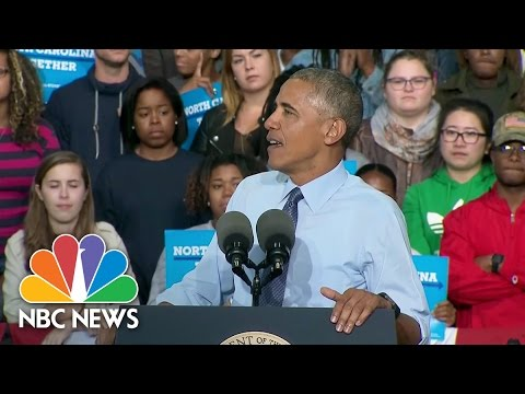 President Obama Wonders Why Some GOP Leaders Still Endorse Donald Trump | NBC News