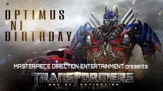 Optimus Ni Birthday | Gujju TRANSFORMERS !
