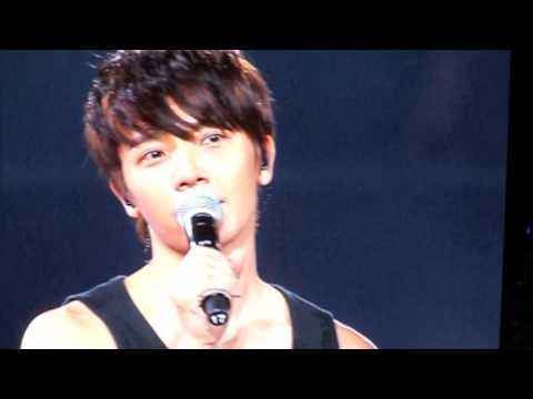 Super Junior en Arena Ciudad de México Antes de la última canción del Super Show 5