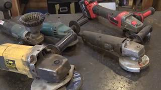 I think you should own an angle grinder - blacksmith shop tools