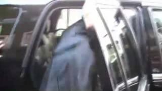 Whitney Houston - Leaving Bedford Medical Center (3/10/10)