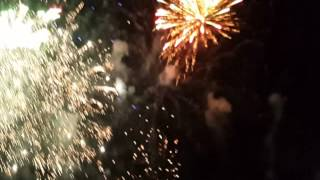 Kembang Api Terlama Malam Tahun Baru 2017   Live Anjungan Nusantara Kota Palu   Salmin Mointi