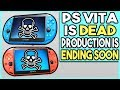 THE PLAYSTATION VITA IS DEAD! ENDING PRODUCTION SOON!