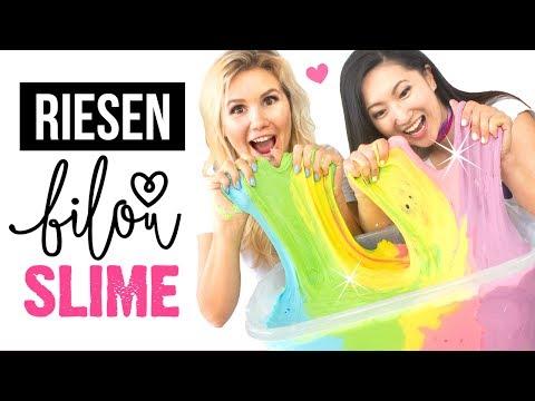 Xxx Mp4 RIESEN Bilou SLIME 💕 DIY Regenbogen Schleim ☁️ Basteln Anleitung 🦄 Slime Selber Machen Deutsch 3gp Sex