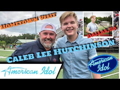 Caleb Lee Hutchinson American Idol Top 3 Hometown Visit Week