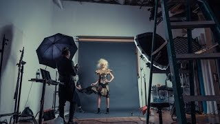 Behind The Scenes - Editorial Fashion Photo Shoot - Dhrumil Desai Shoots Kayla Lewis