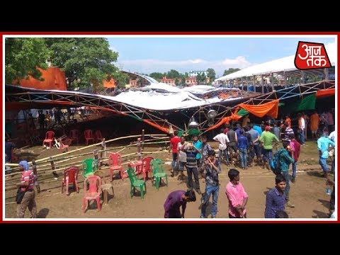 Xxx Mp4 Tent Collapses At PM Modi S Rally In Midnapore 20 BJP Workers Injured 3gp Sex