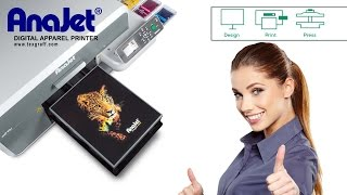 Fastest DTG Printing Techniques- Anajet Direct to Tshirt Printer